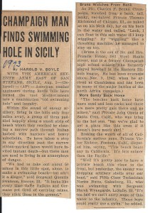 champaign man finds swimming hole in sicily