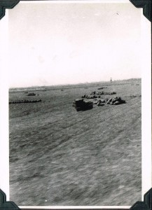 Bombs on the Beach at Salerno